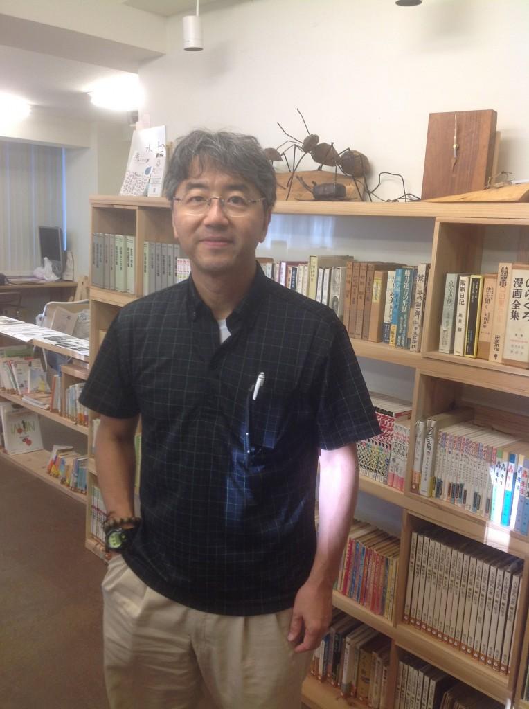 インタビューを快く引き受けてくださった礒井純充さん