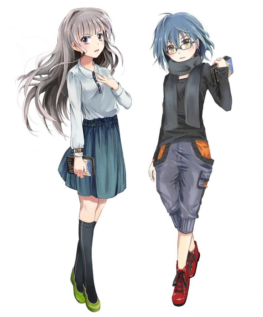 兵庫ちゃんと奈良ちゃん