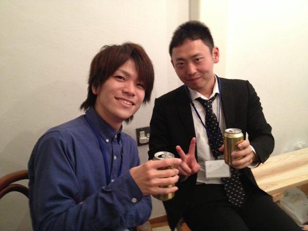 読書会後のビール!