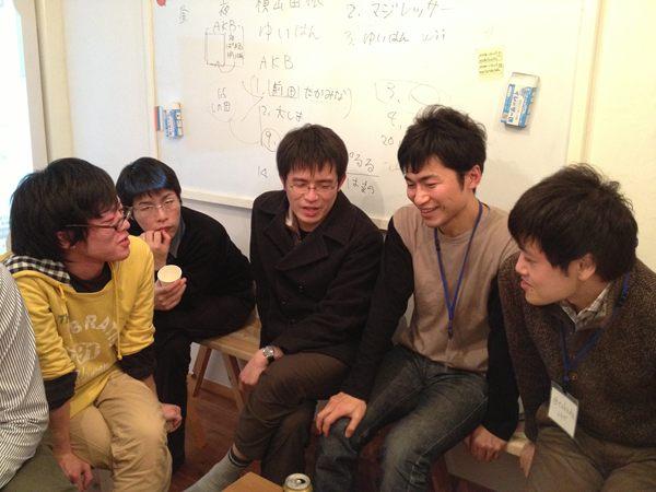 福嶋さんを囲んで議論
